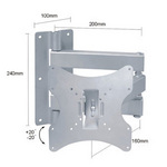 lb5s 2 Way Adjustable Tilting Wall Mount Bracket f